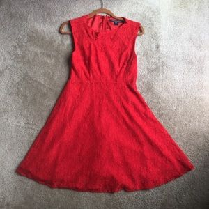 French connection lace dress